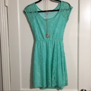 NWT Delia's sz S lace dress